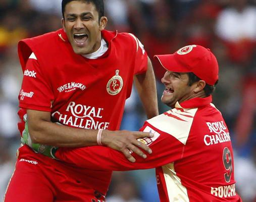 Image result for anil kumble rcb