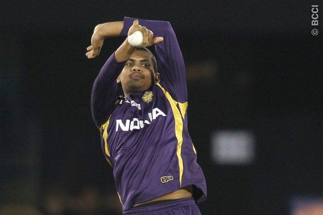 Sunil Narine reported twice for illegal action banned from bowling in the finals against CSK.(Photo: BCCI)