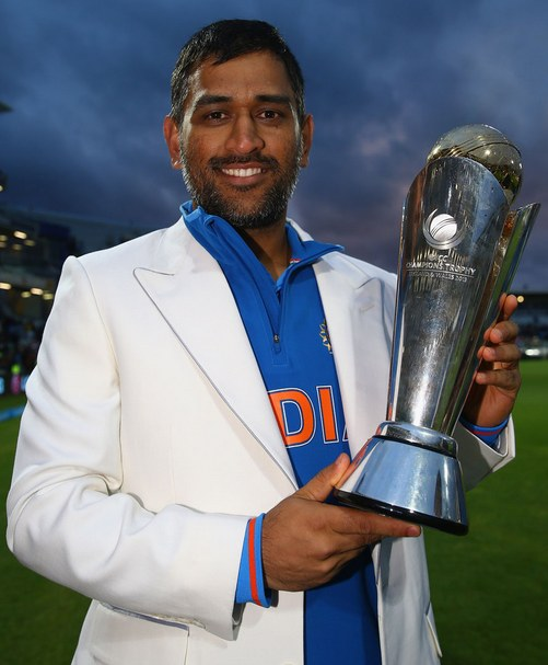 MS Dhoni Champions Trophy 2013