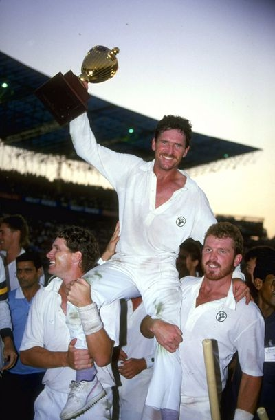 Former Australian captain Allan Border, is the second most successful captain with 107 wins. (Photo Source: Getty Images )