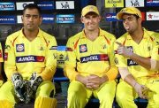MS Dhoni csk Michael Hussey
