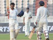 highest individual scores in Ranji Trophy