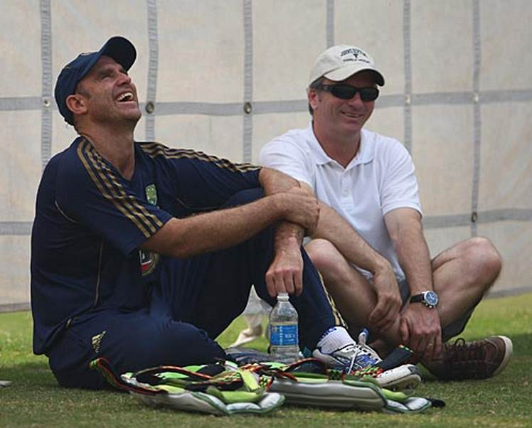 Matthew Hayden and Steve Waugh - CricTracker