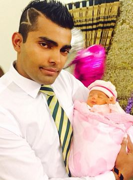HD wallpapers umar akmal new hairstyle pic