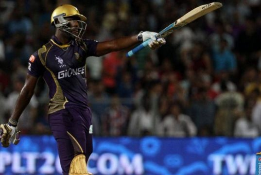 Andre Russell vs KXIP IPL8