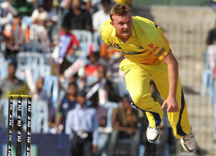 Doug Bollinger is the fastest bowler to play for Chennai Super Kings