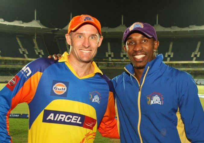 Image result for Dwayne Bravo Purple Cap IPL 2015