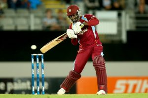 Andre Fletcher of the West Indies