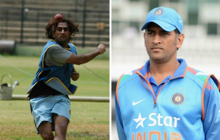 MS Dhoni Then And Now
