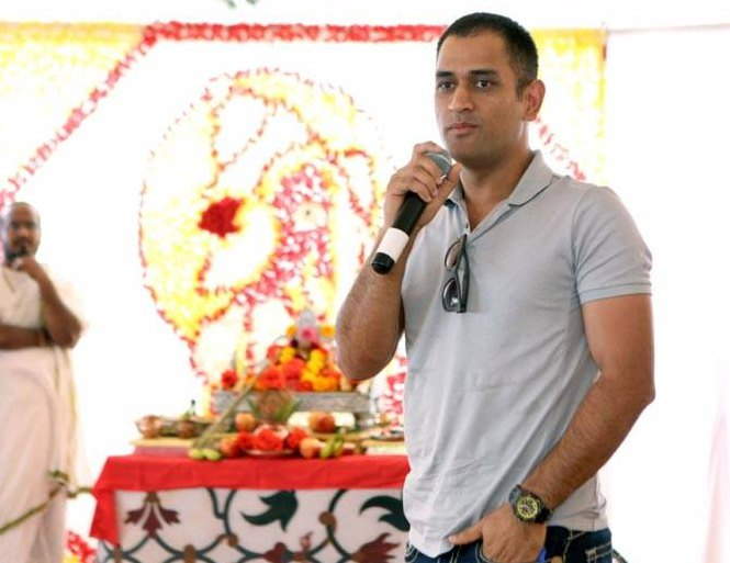 MS Dhoni's USA holiday in pics
