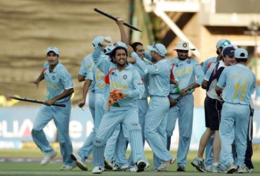 MS Dhoni India were crowned World T20 champions in 2007 BCCI