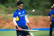 Manish Pandey during the practice session KPL4