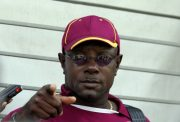 West Indies captain Richie Richardson