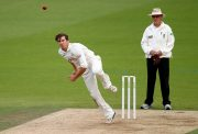 Zafar Ansari of Surrey bowls-GettyImages-486158228
