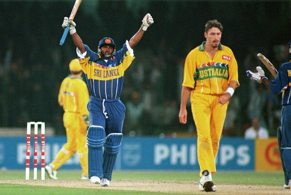 Aravinda de Silva's cricket career in numbers