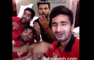 Cricketers Dubsmashing