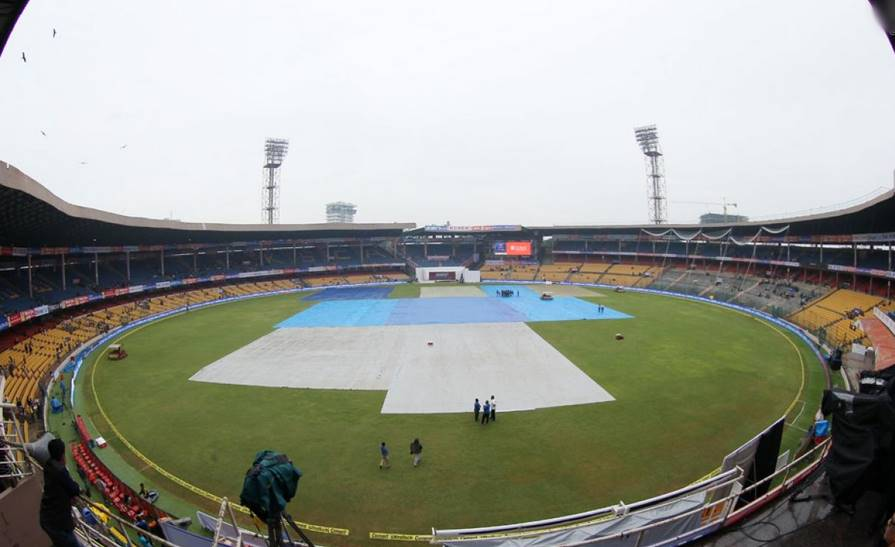 M Chinnaswamy Stadium Rain India v South Africa