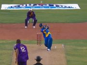 Sachin Tendulkar hits a Six of Walsh