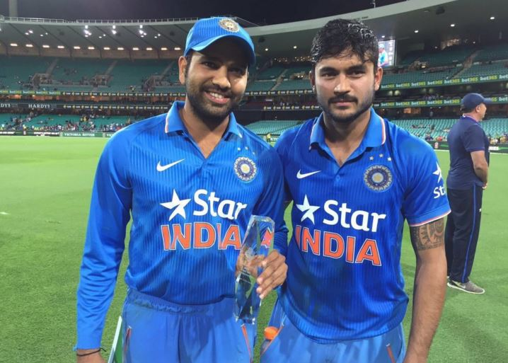Rohit Sharma and Manish Pandey