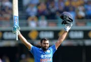 Rohit Sharma in 2nd ODI Brisbane