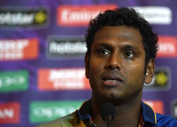 Angelo Mathews News