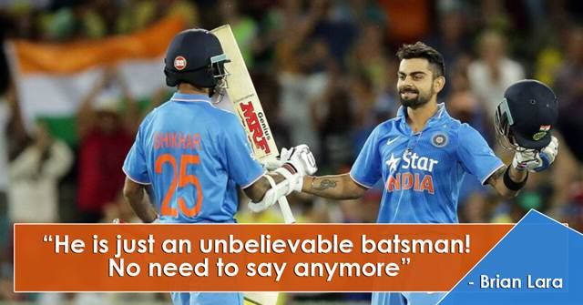 wonderful quotes on virat kohli