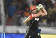 AB de Villiers vs Sunrisers Hyderabad