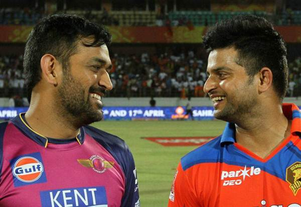 We need to look at our team composition: MS Dhoni ...