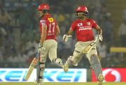 Marcus Stoinis and Wriddhiman Saha Kings XI Punjab