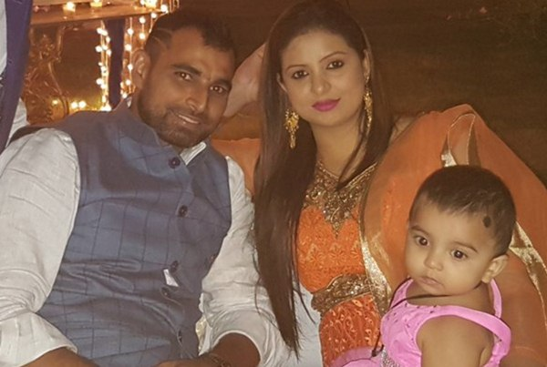 Image result for shami wife