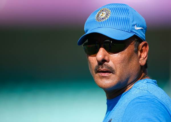 And It's Ravi Shastri who holds the Head Coach position
