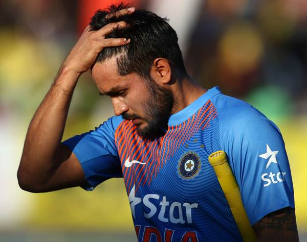 India A skipper Manish Pandey fined for breaching Code of Conduct ...