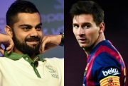 Virat Kohli and Lionel Messi