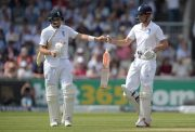 Joe Root and Alastair Cook England