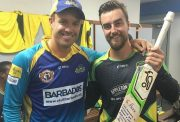 Alex Ross and AB de Villiers