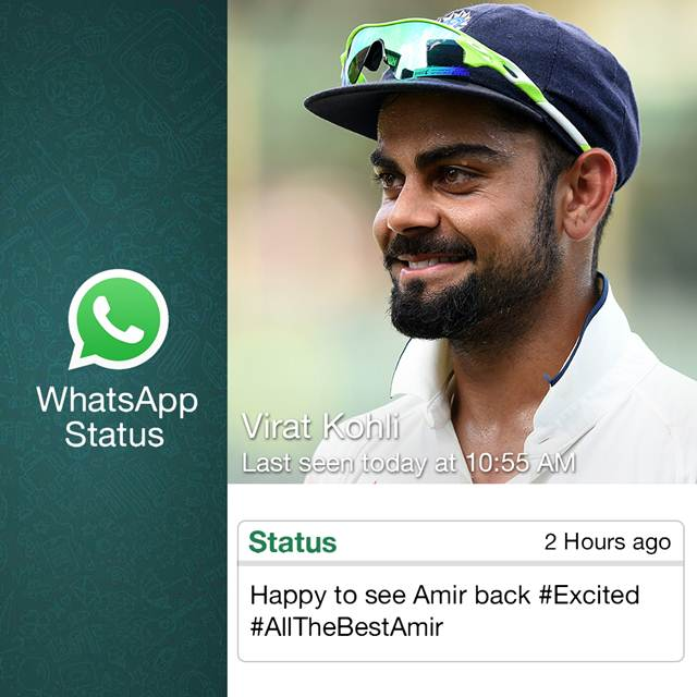 Fake WhatsApp status: WhatsApp status of cricketers just ahead of Eng ...