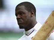 SYDNEY, AUSTRALIA - JANUARY 04: Carlos Brathwaite of West Indies looks dejected after being dismissed by James Pattinson of Australia during day two of the third Test match between Australia and the West Indies at Sydney Cricket Ground on January 4, 2016 in Sydney, Australia. (Photo by Ryan Pierse - CA/Cricket Australia/Getty Images)