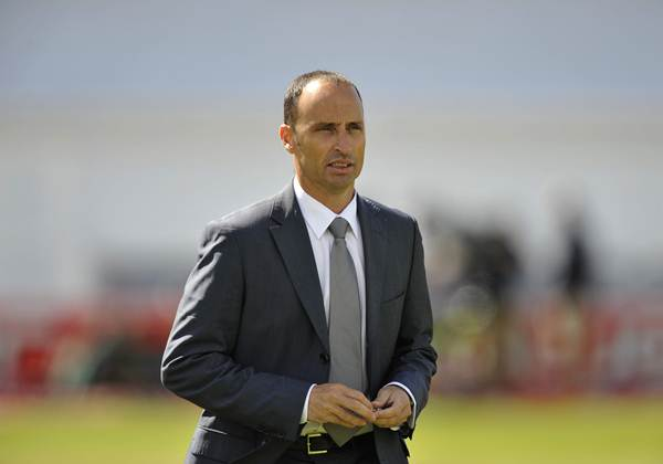 Nasser Hussain, former England captain., England v South Africa, 2nd Test, Headingley, Jul 08. (Photo by Patrick Eagar/Patrick Eagar Collection via Getty Images)