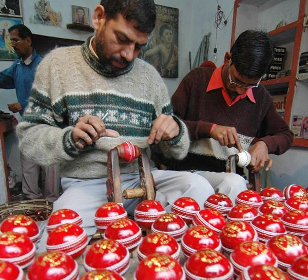 Indian cricket ball-makers Ashwani Kumar Top Stories