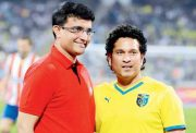 Cricketing trends Sachin Tendulkar with Sourav Ganguly