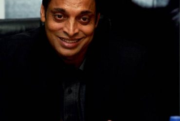 Pakistani cricketer Shoaib Akhtar during release of his autobiography