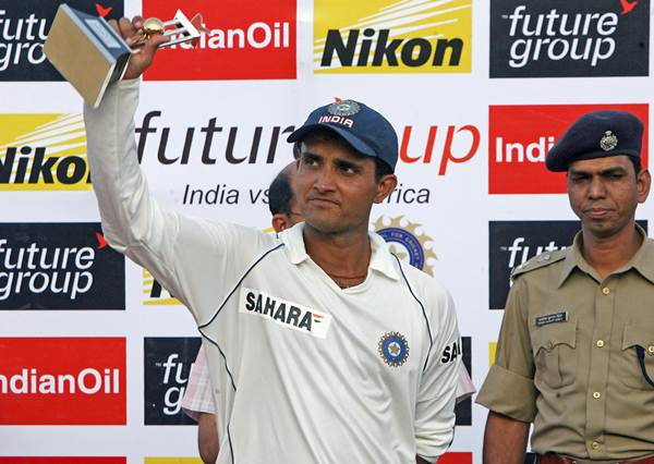 Top 10 Players with most man of the series awards for India in Tests