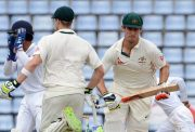Mitchell Marsh and Steven Smith