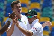 Morne Morkel and AB de Villiers
