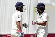 Ajinkya Rahane and Wriddhiman Saha
