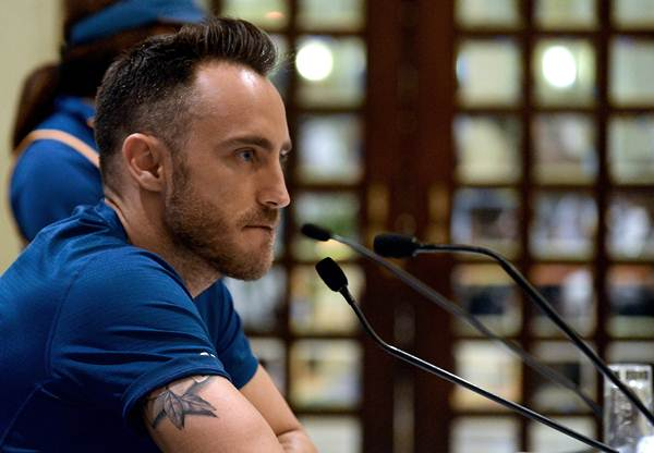 Faf du Plessis charged with ball tampering by ICC ... Faf Du Plessis