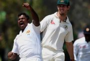 Rangana Herath hat-trick in Test cricket