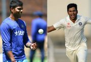 Umesh Yadav and Shardul Thakur
