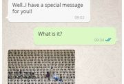 WICB Fake WhatsApp chat