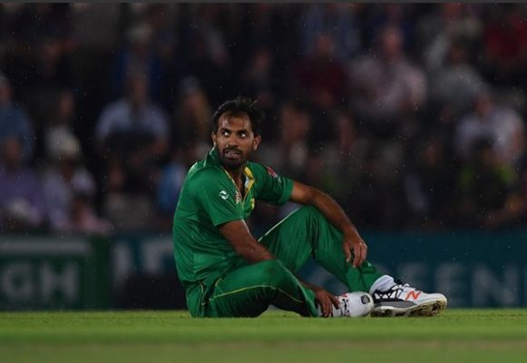 Wahab Riaz of Pakistan